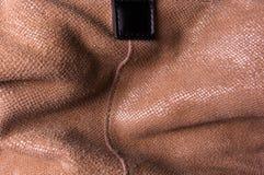 Brown zamszowy patka obraz stock