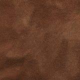 Brown zamszowy tekstura Zdjęcia Stock