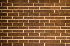 Brown-Ziegelstein-Hintergrund Stockfoto