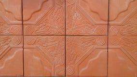 Brown-Ziegelsteinbeschaffenheitstapeten und -hintergründe Lizenzfreie Stockfotografie
