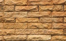 Brown-Ziegelsteine Stockbild