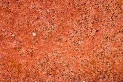 Brown ziemi powierzchnia Zamyka w górę naturalnego tła zdjęcie royalty free