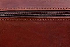Brown zipper Stock Image