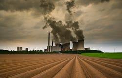 Browncoal kraftverk Royaltyfri Bild