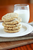 Browned Butter Sugar Cookies Stock Photography