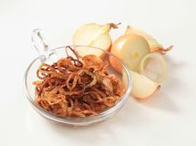 Browned onion Royalty Free Stock Images