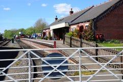 Brownhills västra järnvägsstation Royaltyfri Bild