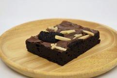Brownie σοκολάτας κέικ, σπιτικό, φρέσκο γεύμα, καλό γεύμα Στοκ Εικόνα