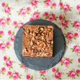 Brownie σοκολάτας κέικ Στοκ Εικόνες