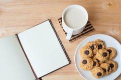 Brownie σοκολάτας μπισκότο Στοκ φωτογραφίες με δικαίωμα ελεύθερης χρήσης