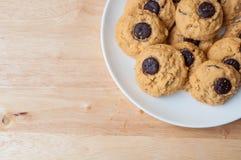 Brownie σοκολάτας μπισκότο Στοκ εικόνα με δικαίωμα ελεύθερης χρήσης