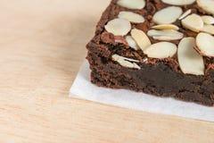 Brownie σοκολάτας Στοκ Φωτογραφία