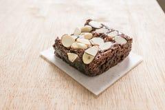 Brownie σοκολάτας Στοκ Εικόνα