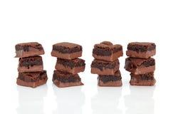 brownie συσσωματώνει τη σοκο&lamb Στοκ Φωτογραφίες