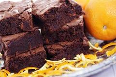 Brownie royalty-vrije stock foto's