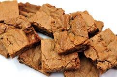 Brownie Imagen de archivo libre de regalías