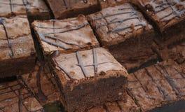 Brownie Foto de archivo libre de regalías