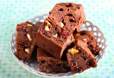 Brownie Foto de Stock