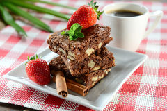 Brownie Fotografía de archivo libre de regalías