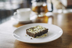 brownie immagini stock libere da diritti