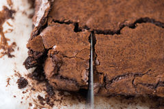brownie royalty-vrije stock afbeeldingen