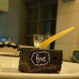 brownie Foto de archivo