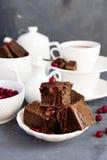 brownie Stock Foto's