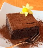 Brownie royalty-vrije stock fotografie