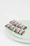 Brownie Bars Stockfoto