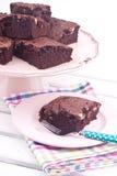 Brownie cake Stock Photos