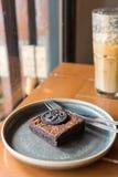 Brownie Cake Photos stock