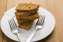Brownie Cake Arkivfoton