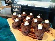 Brownie Cake Immagine Stock Libera da Diritti