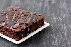 Brownie cake Stock Image