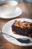 Brownie cake Stock Images
