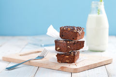 Brownie cake Stock Photo