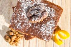 Brownie cake Royalty Free Stock Photo
