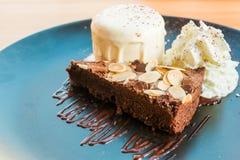 Brownie cake Stock Photo