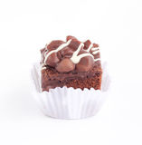 Brownie cake. Stock Images