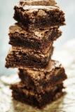 Brownie caseiro Imagens de Stock