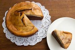 Brownie Cheese Cake Stock Image