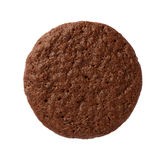 Brownie Cookie a isolé image libre de droits