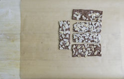 Brownie crackers Stock Photos