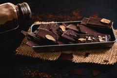 Brownie Crisps fotografia de stock