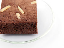 Brownie de Brown Fotografia de Stock Royalty Free