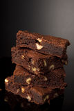 'brownie' de chocolat Image stock