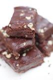 Brownie del chocolate fotografía de archivo libre de regalías