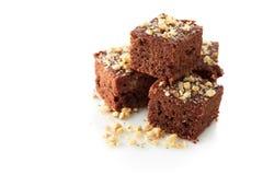Brownie del cioccolato Immagine Stock Libera da Diritti