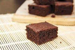 Brownie del cioccolato Immagini Stock Libere da Diritti
