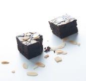 Brownie del cioccolato, pungenti fuori Fotografia Stock Libera da Diritti